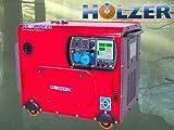 Holzer WS8000LTA mit 6000W und starkem 12PS Motor, 456cm³ Hubraum