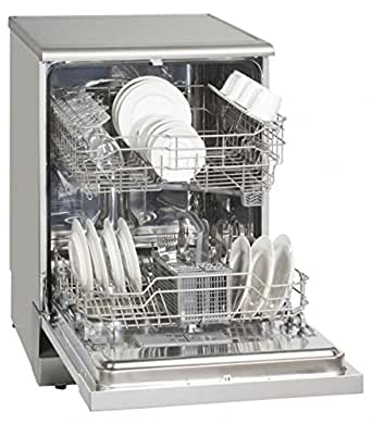 Exquisit GSP8112.1Inox Autonome 12places A+ lave-vaisselle - lave-vaisselles (Autonome, Acier inoxydable, Acier inoxydable, boutons, Rotatif, GS / CE, 12 places)