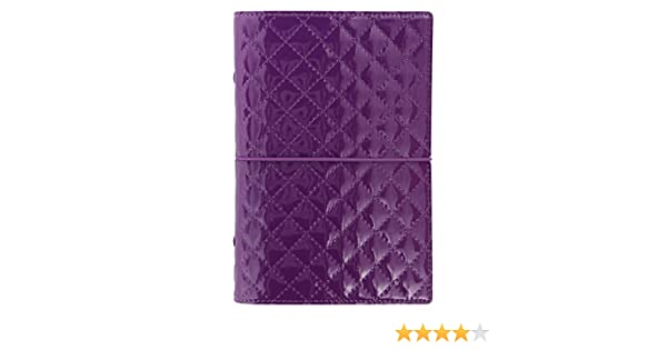Filofax Personnel Domino Luxe Classeur Violet