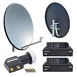 HB-Digital SAT-Komplett-SET: 2x HD Digital Receiver