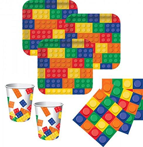 48 Teile Bausteine Party Set für 16 Kinder (Lego Piraten-teile)