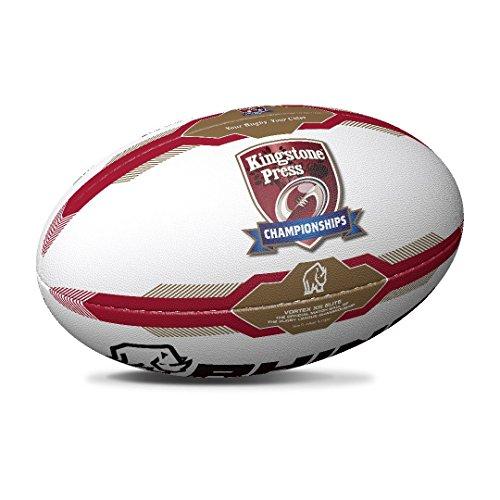 Preisvergleich Produktbild Kingstone Press Championship Spiel Rugbyball - Größe 5