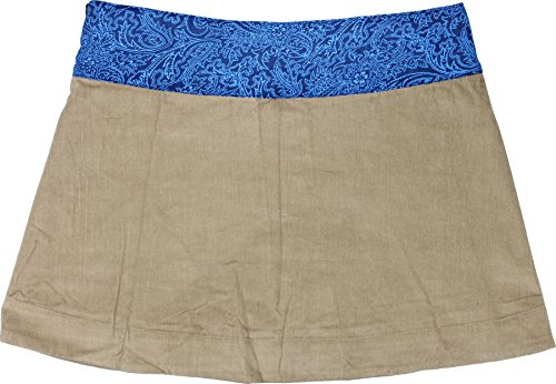 Moshiki Wende-Wickelrock Hot Cookie #3 Cord Short L801