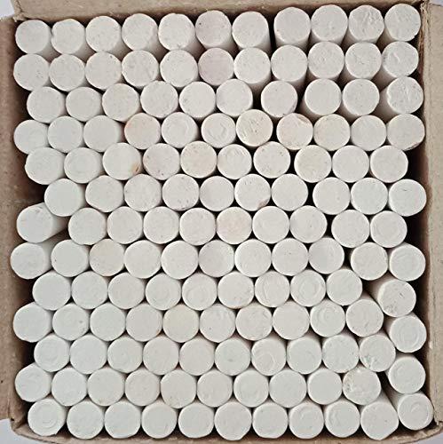 LEEBA Dustless Chalks White 140 pcs (Pack of 1)