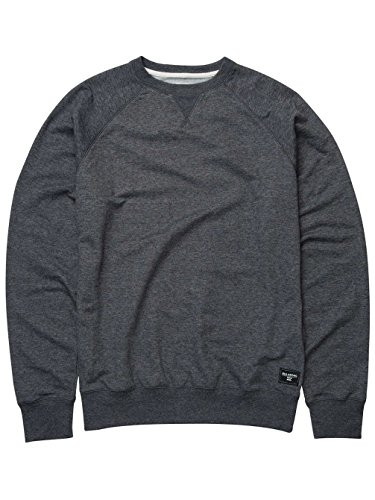 Billabong Herren All Day Crew Sweatshirt, Grau dark grey heath