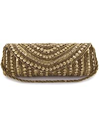Funkia™ Women's ethnic, designer, handcrafted Silk Party Clutch - 7 colors to choose from