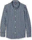 Tommy Hilfiger Jungen Hemd Ame Melange Gingham Shirt L/S