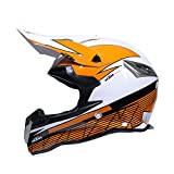 LYZL Motorradhelm für Erwachsene MX-Helm KTM-Motocross-Helm - DOT-Zertifizierung (S/M/L/XL),L59~60