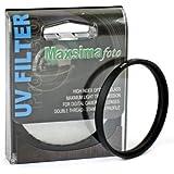 Maxsima - 46mm UV Objectif Filtre / Protecteur pour Panasonic DMC-FZ35 FZ38 FZ28 FZ18