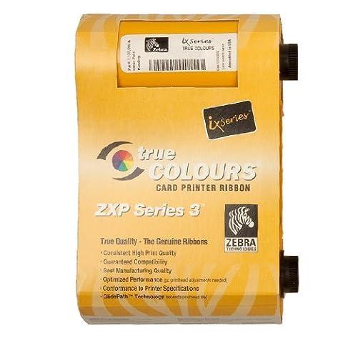 Zebra True Colours 800033-840 Ribbon Cartridge - YMCKO - Dye Sublimation Thermal Transfer - 200 Card