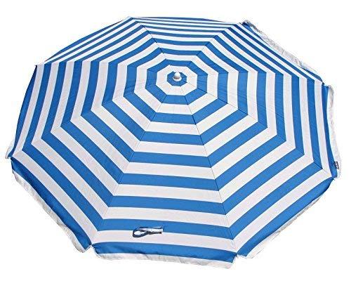 a58f9bac8ac7 Shelta Australia Shelta Noosa Beach Umbrella, Blue and White Striped