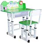 #7: Study Table & Chair Set for Kids Unisex Desk for Boys & Girls