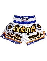 Lumpinee Muay Thai Kick Boxeo Pantalones Boxeo Tailandes : LUM-003 Talla M