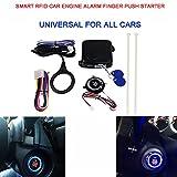 Startknopf / Anlasser mit RFID-Motorsperre, schlüsselloses Zugangssystem, Drucktaste, Wegfahrsperre