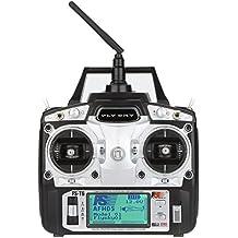 GoolRC Modo 6CHFlysky FS-T6 de Alta Precisión del Transmisor de 2,4 GHz 2W / Receptor R6-B RC Multirotor Quadcopter Helicóptero Avión Planeador de Coches