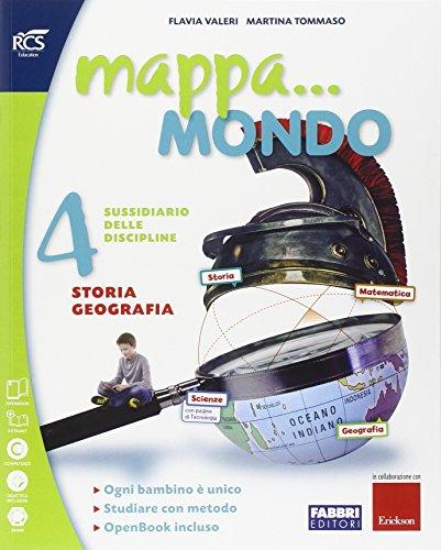 Mappa. mondo. Antropologico-Scientifico-Quaderni. Per la 4ª e 5ª classe elementare. Con e-book. Con espansione online