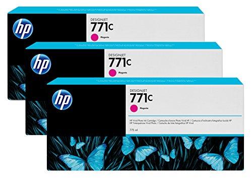Preisvergleich Produktbild HP 771C Multipack Original Druckerpatronen mit hoher Reichweite (3x Magenta) für HP DesignJet