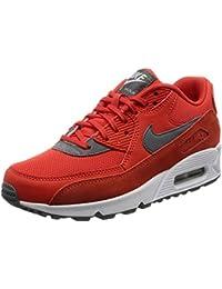 Nike Women's Air Max 90 Max Orange/Cool Grey/White Running Shoe 6 Women US