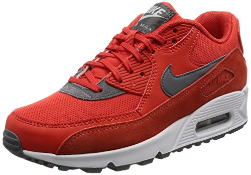 uk availability 32edd 4a9cf Nike Damen Air Max 90 Sneakers, Orange (Max OrangeCool GreyWhite