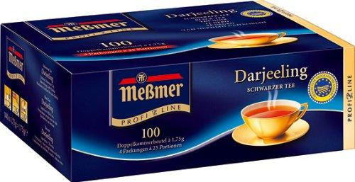 Meßmer ProfiLine Darjeeling 100 x 1.75 g, 1er Pack (1 x 175 g)