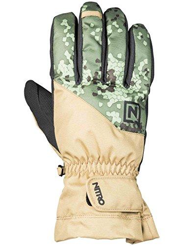 Nitro Snowboards Erwachsene Flight '19 Gloves, Camo, M