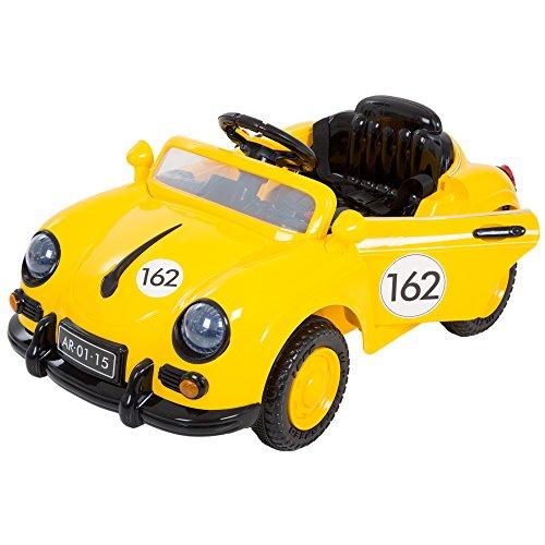 Lil' Rider 58Speedy Sporster Classic Car mit Fernbedienung, Gelb (Cars-fernbedienung Classic)