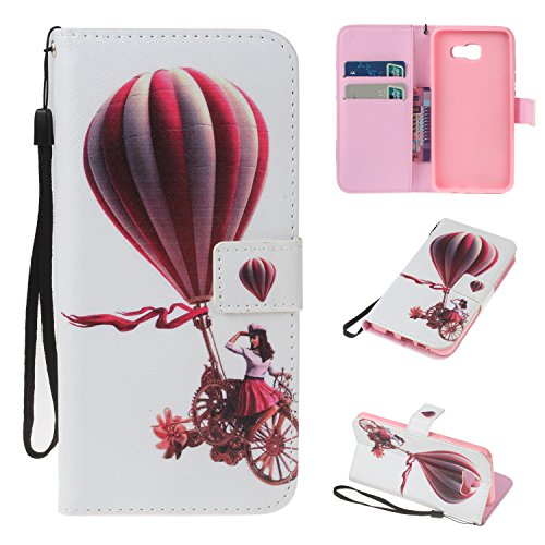 Samsung-CaseBONROY-Samsung-Painting-design-PU-Leather-Phone-Holster-Case-Flip-Folio-Book-Case-Wallet-Cover-with-Stand-Function-Card-Slots-Money-Pouch-Protective-Leather-Wallet-Case-for-Samsung