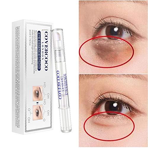 Sérum raffermissant pour les yeux, Huoju Essence d'aiguille pour eau-lumière à l'acide hyaluronique Retirez l'hydratant pour les cernes Sérum raffermissant pour les yeux (A)