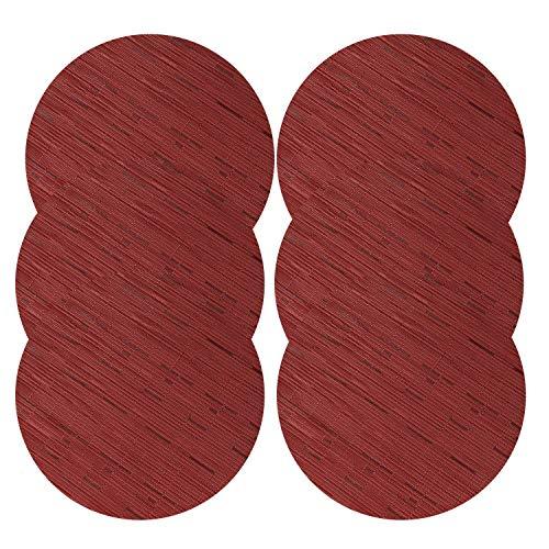 U'Artlines Juego 6 manteles Individuales Redondos