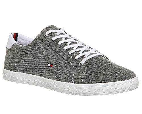 Tommy Hilfiger Essential Long Lace, Sneaker Uomo Grigio (Light Grey 004)