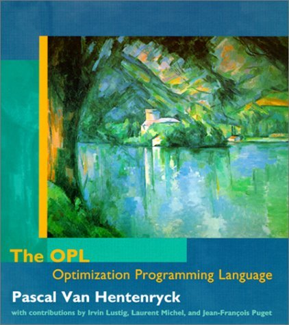 Download The OPL Optimization Programming Language by Pascal