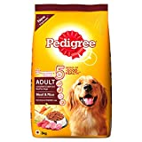 #4: Pedigree Adult Dog Food Meat & Rice, 3 kg Pack