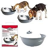 Camon Automatischer Springbrunnen für Hunde und Katzen praktisch und robust + 3 Ersatzfilter