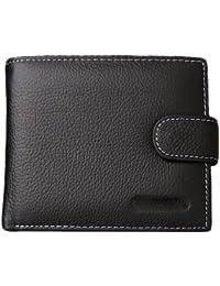 F9Q Luxe cuir véritable Hommes Vintage souple des bourse Portefeuille d'embrayage Numismatique Portefeuilles