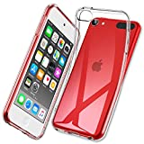 ESR Essential Zero Compatible with iPod Touch 7 Case/iPod touch 6 Case, Slim Clear Soft TPU Cover for iPod Touch 7th Gen/6th Gen [Precise Cutouts] [Raised Edges], Crystal Clear