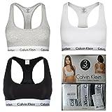 Calvin Klein Bralette 3er Set Modern Cotton Bustier (M)