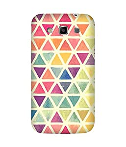 Water Colour Triangles Samsung Galaxy Grand Duos I9082 Printed Back Cover