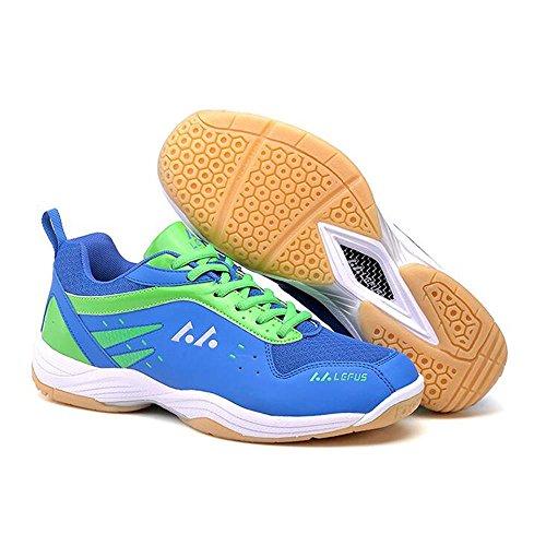 Mr. LQ - Professionale Badminton / Tennis / Ping pong Sneaker Blue