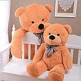 MorisMos riesen XXL Teddy 2m hellbraun - 4