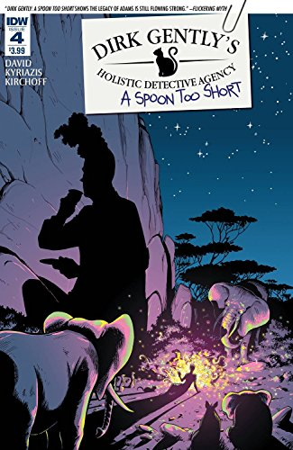 Dirk Gently's Holistic Detective Agency: A Spoon Too Short #4 (of 5) ((Regular Cover)) - IDW - 2016 - 1st Printing