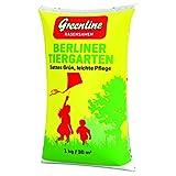 Greenline Rasensamen Berliner Tiergarten 1 kg, grün