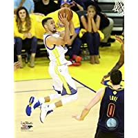 Stephen Curry Game 2 of The 2016 NBA Finals Photo Print (20,32 x 25,40 cm)