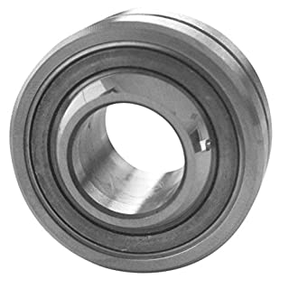 J.W. Winco 18M42LZ8S/K GLRSW Spherical Plain Bearing, Stainless Steel with Bronze Insert, 42 mm Outside Diameter, 18 mm Bore, 23 mm Width
