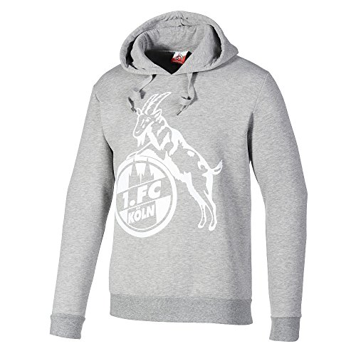 "Hoodie Pullover Kapuzen Sweatshirt ""Stammstr."" 1. FC KÖLN Gr. 2XL"