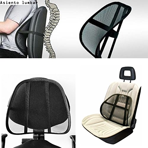 Respaldo asiento coche lumbar jueves lowcost - Silla estudio amazon ...