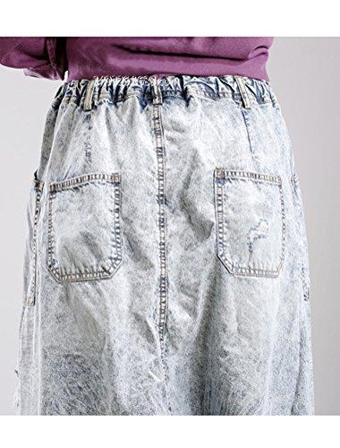 Vogstyle Nuove donne Pantaloni Jeans alla Moda Stile-3