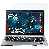 atFolix Schutzfolie kompatibel mit Fujitsu Lifebook U937 Panzerfolie, ultraklare & stoßdämpfende FX Folie (2X)