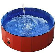 Fuloon - Piscina/bañera plegable para mascotas - Para lavar perros y gatos con seguridad