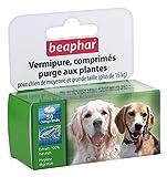 Beaphar - VERMIpure, comprimés purge - chien de moyenne et grande taille (> 15 kg)