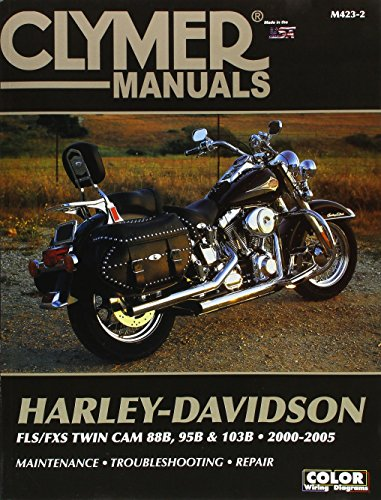 Clymer Harley-Davidson FLS/FXS 88 (Clymer Motorcycle Repair, Vendor Id M423-2)